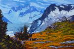 original canada side of the spire bugaboos painting 86442