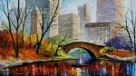 original central park new york painting