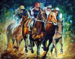 chase horses by original paintings