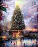 original christmas in new york painting