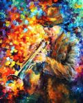 elegant sound music by original paintings