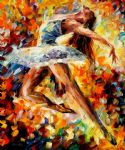 elevation dance by original paintings