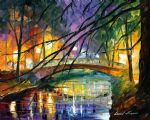 enigmatic bridge by original paintings