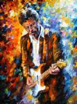 eric clapton by original paintings