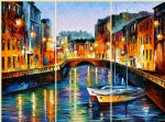evening river st. petersburg by original paintings
