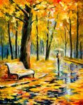 fall rain 3 by original paintings