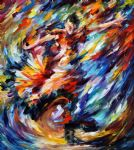 feelings of work dancer by original paintings