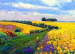 original fields of gold canada flowers posters
