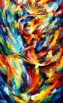 flamenco dance by original paintings