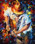original guitar and soul painting 86628