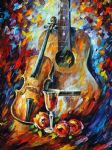 original guitar and violin painting 86629