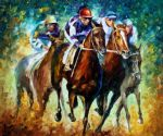 original horse riders painting