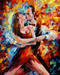original in the rhythm of tango 2 painting