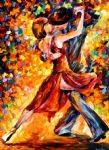 original in the rhythm of tango painting