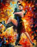 joyful tango by original paintings