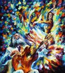 latin mood dancer by original paintings