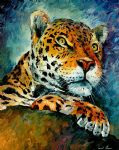 leopard by original paintings