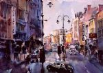 original london landscape 2 paintings