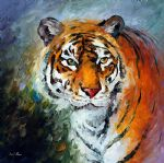 lonly tiger by original paintings
