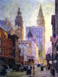 original metropolitan tower new york city painting 86663