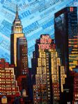 original modern new york city painting 86669