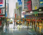 original modern new york landscape 1 painting