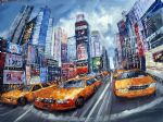 original modern new york landscape 2 paintings