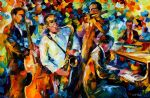 music players by original paintings