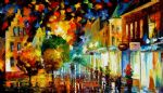 night attraction by original paintings