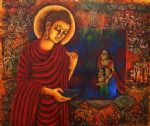 original oroginal the buddha 5 painting