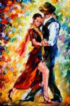romantic tango by original paintings