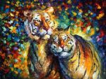 sweetness tigers by original paintings