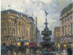 original thomas kinkade london 2 prints