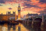 original thomas kinkade london prints