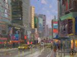 original thomas kinkade new york city 3 prints