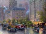 original thomas kinkade new york city 4 prints