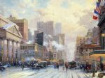 original thomas kinkade new york city prints