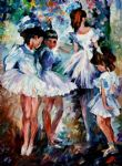original young ballerinas painting 86848