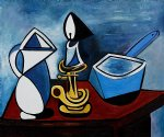 enamel saucepan by pablo picasso paintings