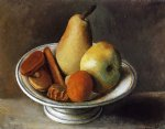 fruit bowl with fruit by pablo picasso paintings