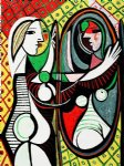 girl before a mirror iii by pablo picasso paintings