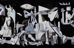 framed paintings - guernica 1937 gallery wrap by pablo picasso