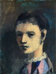 harlequin s head by pablo picasso paintings