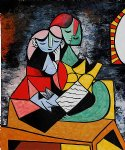 la lecture by pablo picasso paintings
