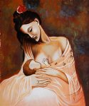 pablo picasso famous paintings - maternity artist interpretation by pablo picasso