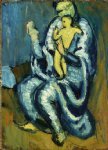 pablo picasso motherhood ii painting