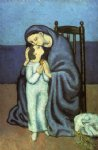 pablo picasso motherhood painting