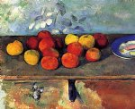 apples and biscuits ii by paul cezanne prints