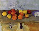 apples and biscuits by paul cezanne prints