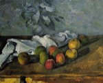 apples and napkin by paul cezanne prints